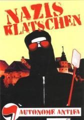 """Zum Aufkleber-Paket """"Nazis Klatschen"""" für 1,80 € gehen."""