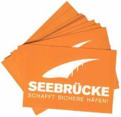"""Zum Aufkleber-Paket """"Seebrücke (weiß)"""" für 1,80 € gehen."""