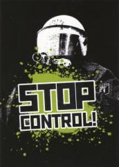 """Zum Aufkleber-Paket """"Stop Control!"""" für 1,80 € gehen."""
