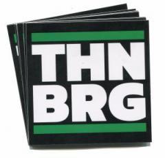 """Zum Aufkleber-Paket """"THNBRG"""" für 1,80 € gehen."""
